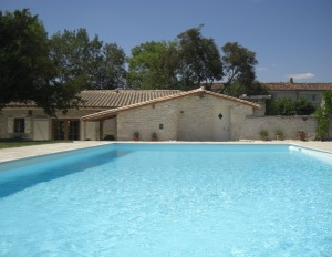Le Villa and pool