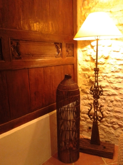 A cosy corner in the sitting room