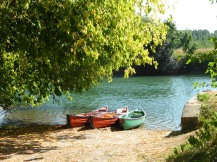 Canoeing on the Charente river