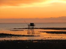 Fouras-les-Bains sunset