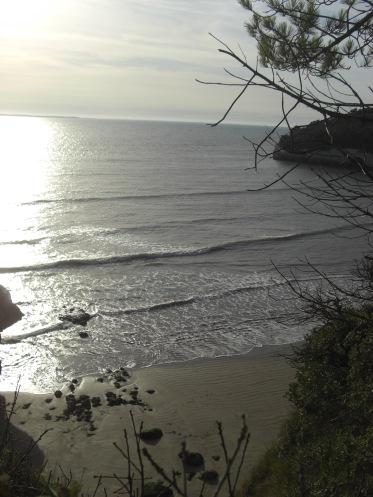 Beach at Meschers-sur-Gironde